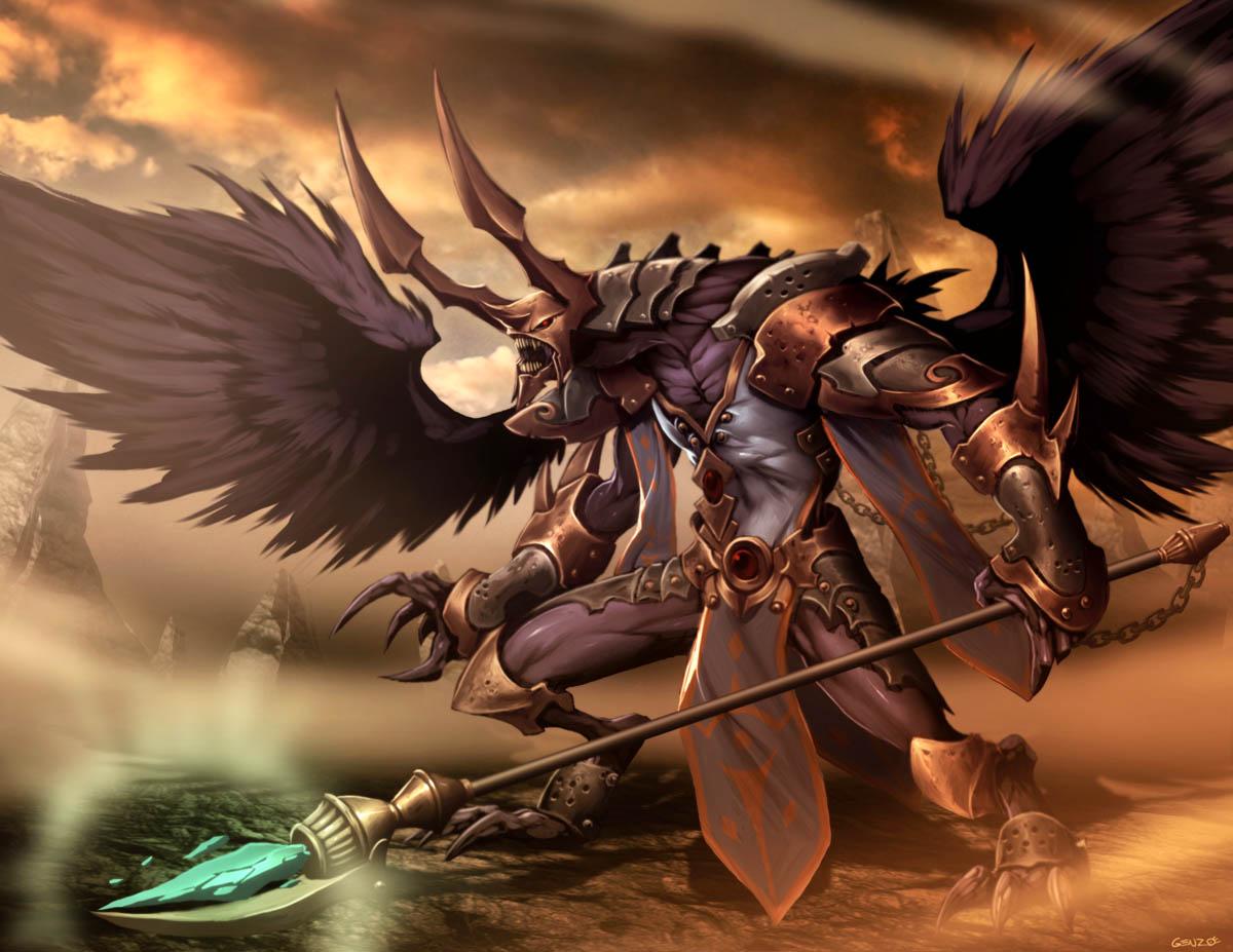 2º.-Las Facciones  Warhammer___Tzeentch_by_GENZOMAN