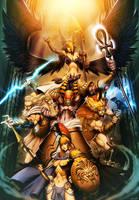 Gods -  Myth Pantheons by GENZOMAN