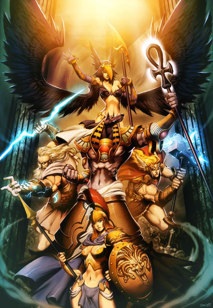Gods - Myth Pantheons by GENZOMAN on DeviantArt