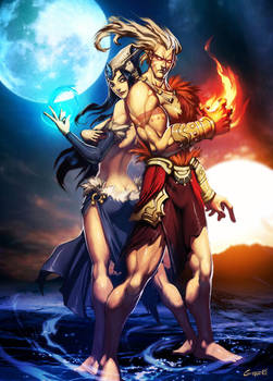 Sun and Moon - Kran and Kra