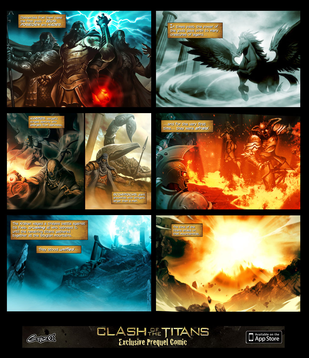 Clash of the titans preview by GENZOMAN