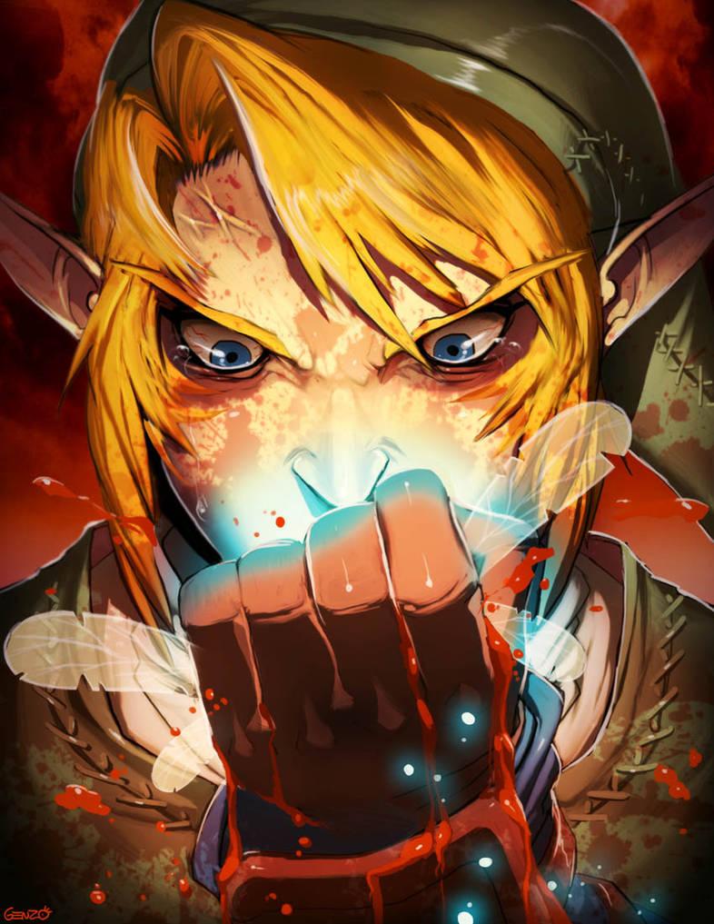 Zelda - Navi hey listen by GENZOMAN