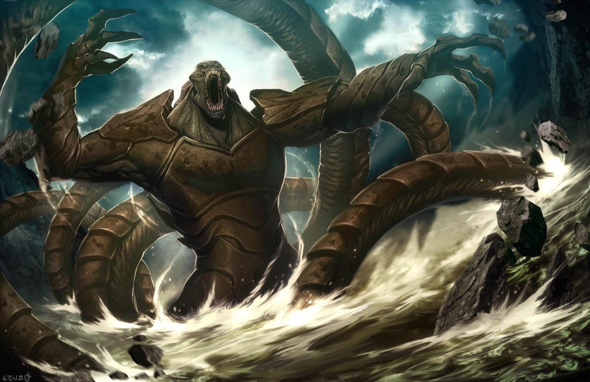 Release the Kraken by GENZOMAN