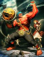 Street Fighter - Hakan by GENZOMAN