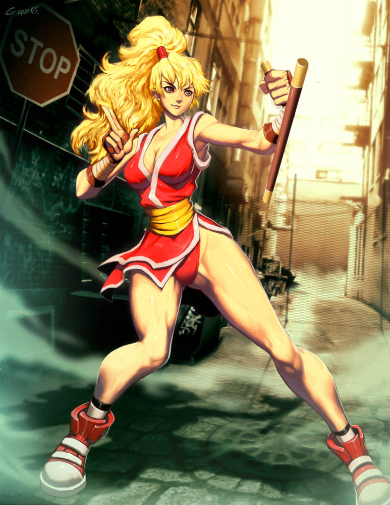 Street fighter - Maki by GENZOMAN