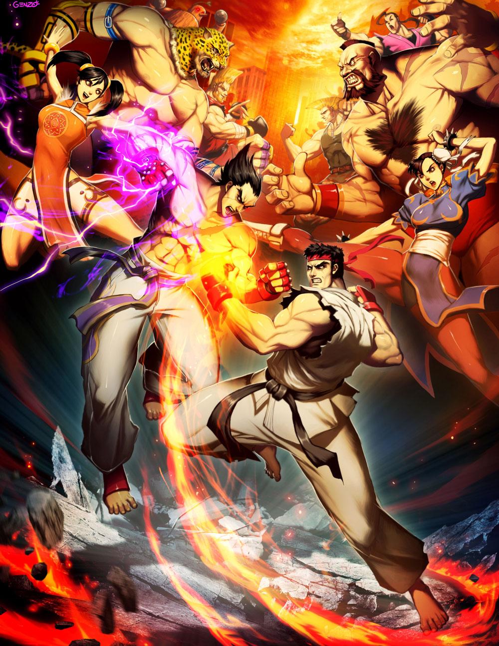 Street Fighter X Tekken by GENZOMAN on DeviantArt