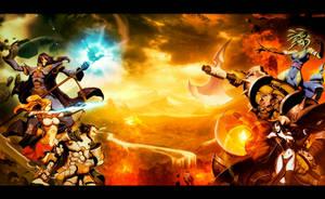 Elemental War by GENZOMAN
