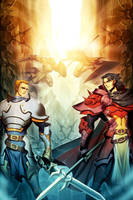 The Age of Psiber Knights by GENZOMAN