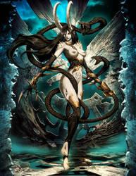 Warhammer - Slaanesh by GENZOMAN