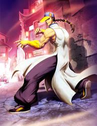 Street fighter - Yun by GENZOMAN