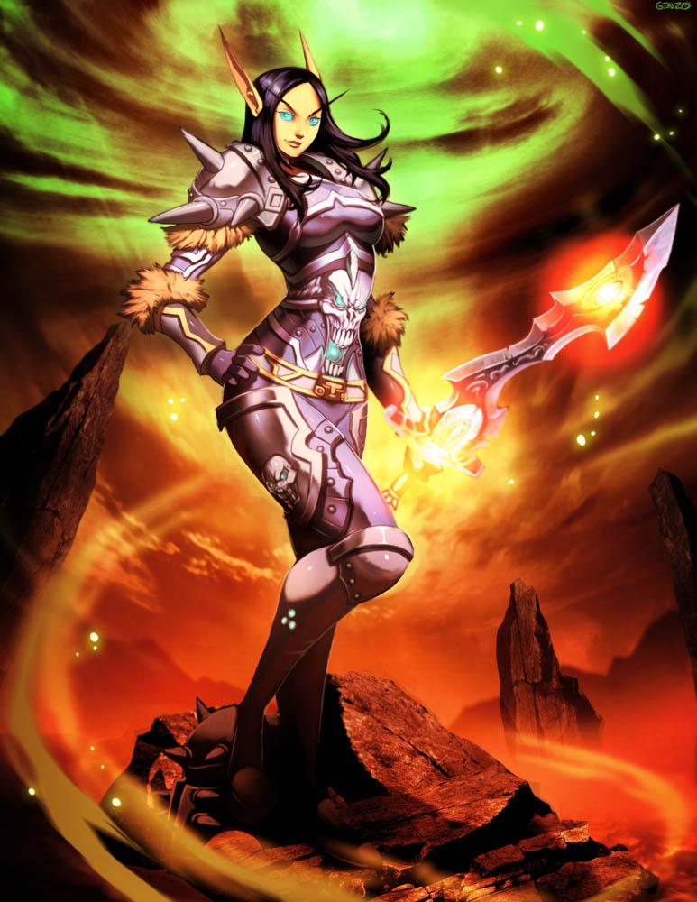 Warcraft - Necroshen by GENZOMAN