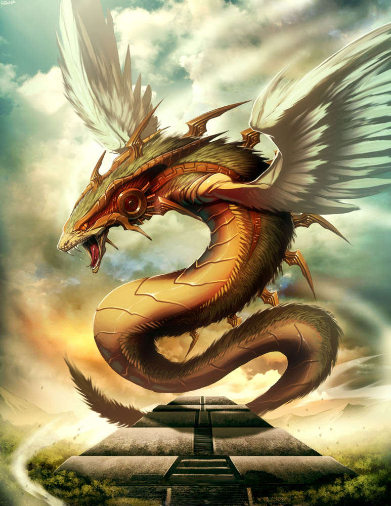 Quetzalcoatl T by GENZOMAN