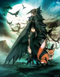 Raven spirit by GENZOMAN
