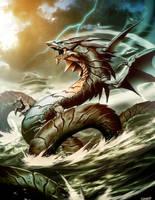 Ryujin Dragon God by GENZOMAN