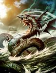 Ryujin Dragon God
