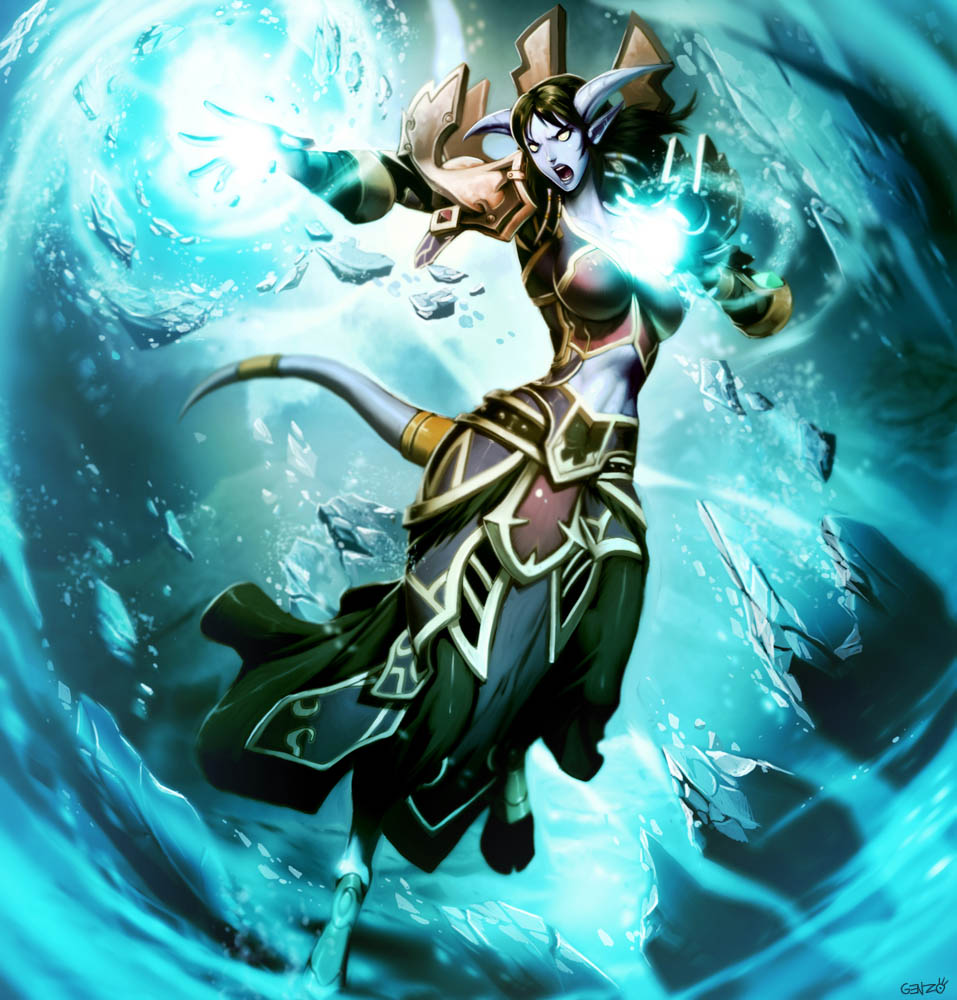 Warcraft - Loraala by GENZOMAN
