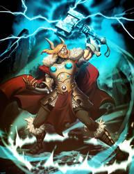 Thor God of Thunder by GENZOMAN