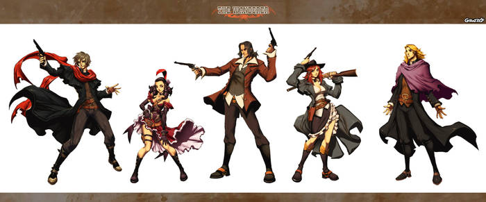 The Wanderer  Characters by GENZOMAN