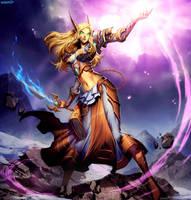 Warcraft - Siaranna by GENZOMAN