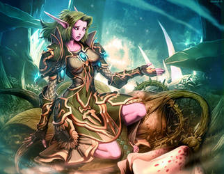 Warcraft - Seeds of the Lasher by GENZOMAN