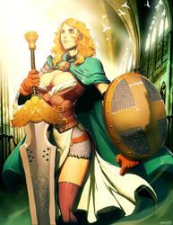 Emerald Lady by GENZOMAN