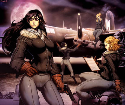 Night Witches by GENZOMAN