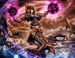 Warcraft - Nethermaven Donna by GENZOMAN