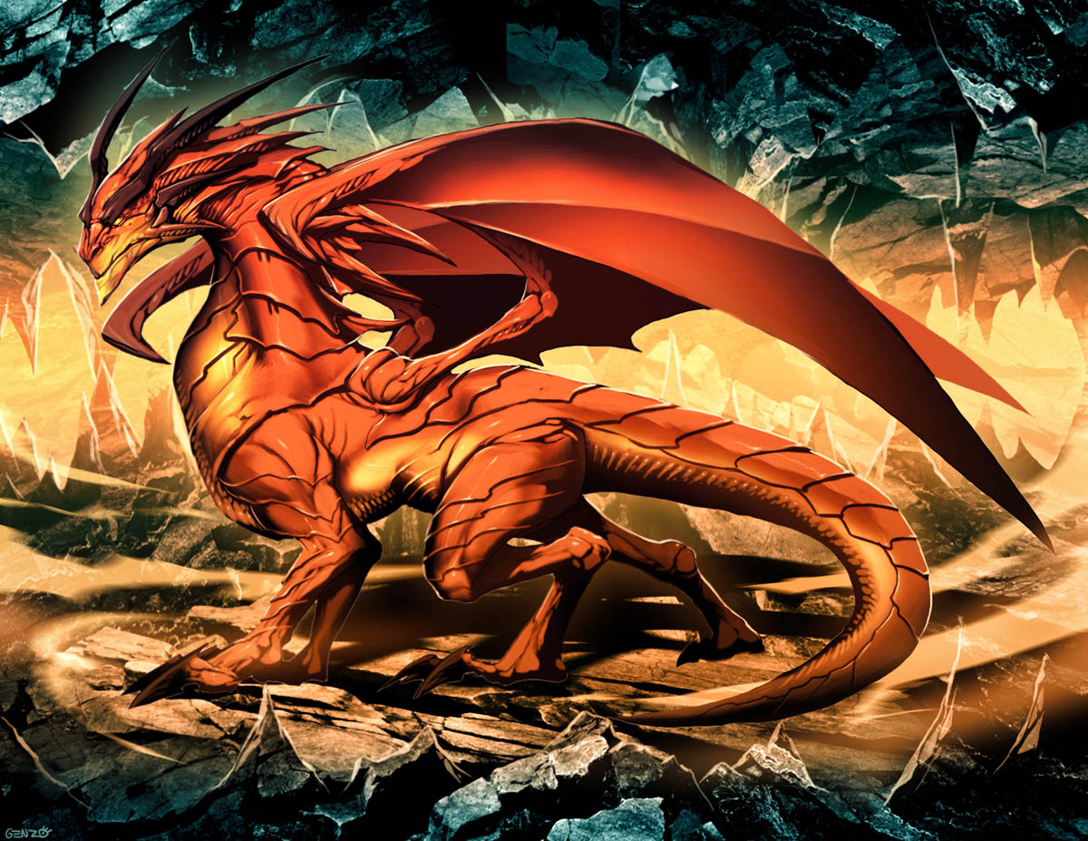 The Dragon by GENZOMAN