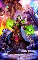 Warcraft - Rakka by GENZOMAN