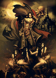 Count Dracula by GENZOMAN