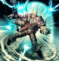 Warcraft Shield of Distortion by GENZOMAN