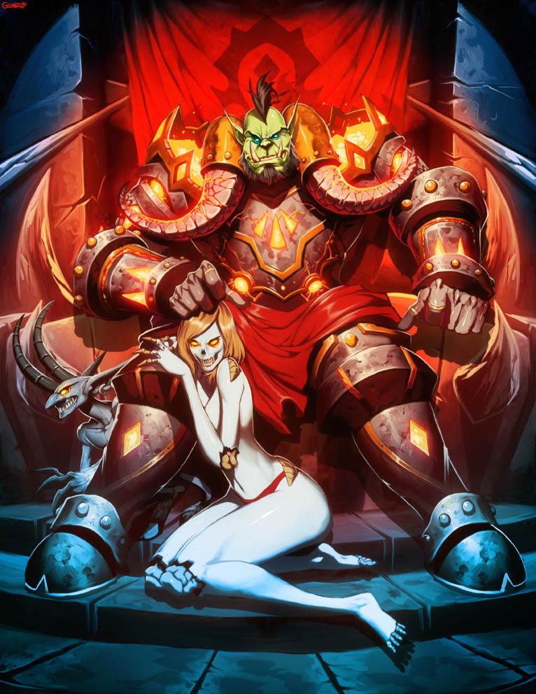 Warcraft  Zipporah and Virtigo by GENZOMAN