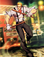 Street Fighter - Eagle by GENZOMAN