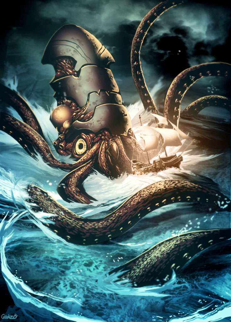 Kraken By GENZOMAN On DeviantArt