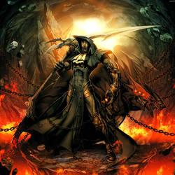 Iron Mask - Black as Death by GENZOMAN