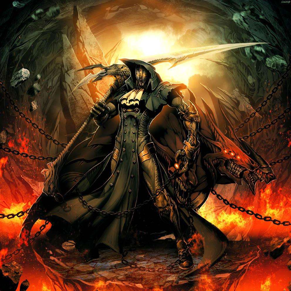 Iron Mask - Black as Death