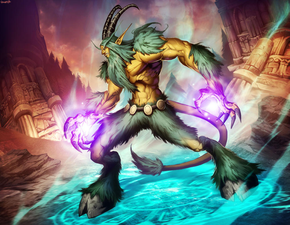 Satyr wow porn images