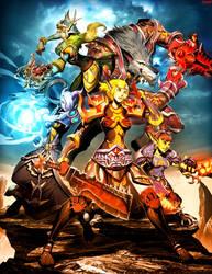 Warcraft - Ramen guild by GENZOMAN