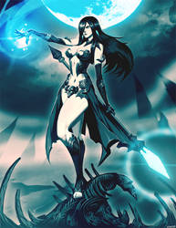 Norsgard - Dark Mage by GENZOMAN