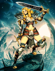 Norsgard - Dark Warrior by GENZOMAN