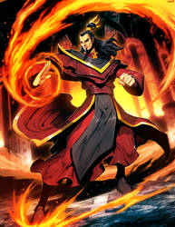 Avatar - Ozai by GENZOMAN