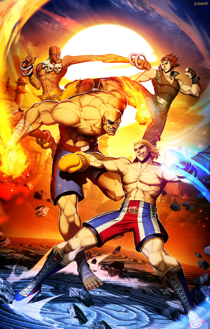 Street fighter X Tekken round 2 by GENZOMAN