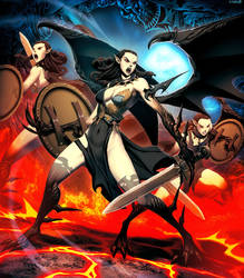 Furies by GENZOMAN