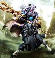 Warcraft - Ahkara by GENZOMAN