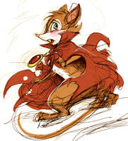 The Secret of NIMH by GENZOMAN