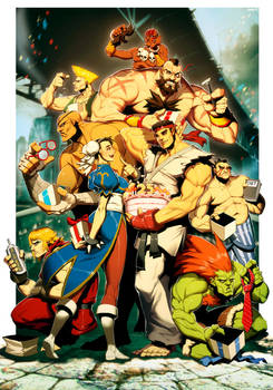 Street Fighter 25th Anniversary tribute