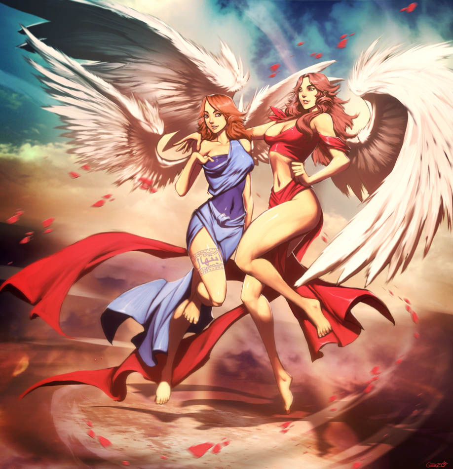 Angels by GENZOMAN
