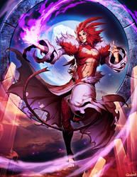 Final Fantasy IX - Trance Kuja by GENZOMAN