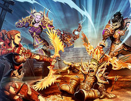 Warcraft - Tracker mark by GENZOMAN