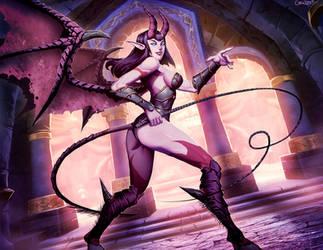 Warcraft - Karazhan Concubine by GENZOMAN